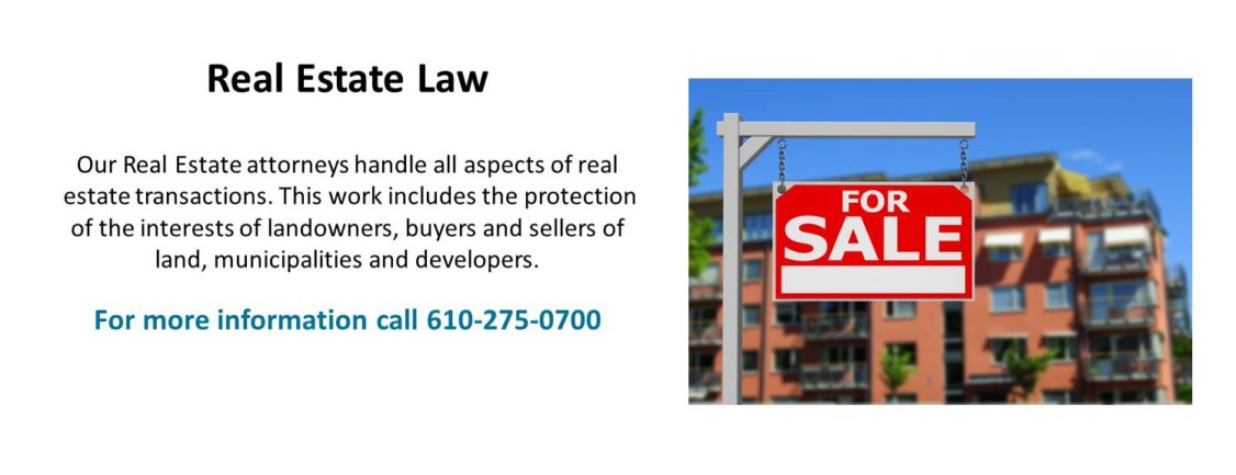 High Swartz Real Estate Lawyers | Norristown and Doylestown | Southeastern Pennsylvania